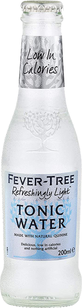 Fever Tree Refreshingly Light Tonic 24x200ml