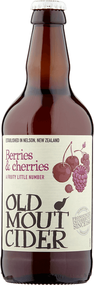 Old Mout Berries & Cherries Fruit Cider 12x500ml 4%