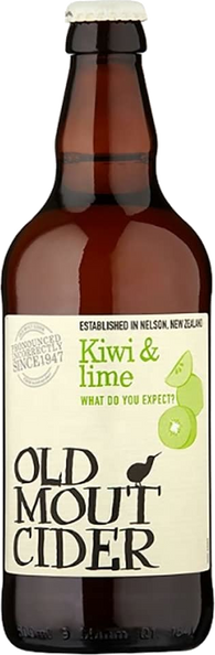 Old Mout Cider Kiwi & Lime 12x500ml 4%