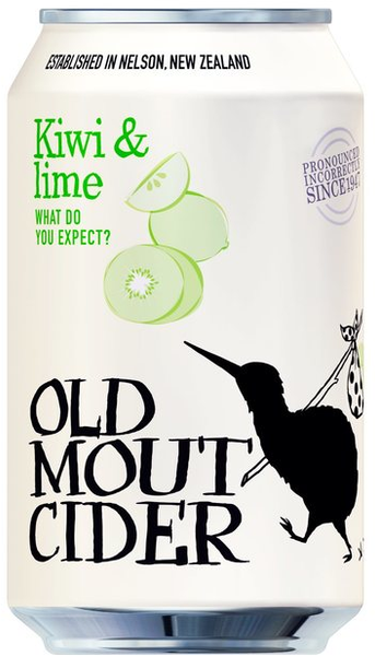 Old Mout Kiwi & Lime 10x330ml 4%