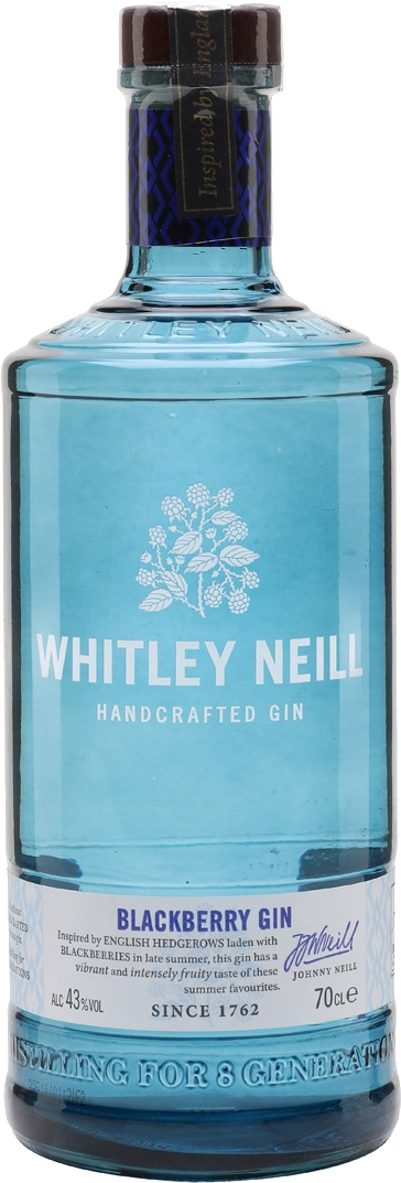Whitley Neill Blackberry Gin 70cl 43%