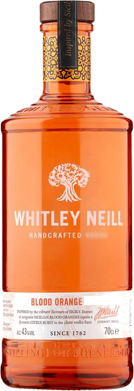 Whitley Neill Blood Orange Gin 70cl 43%