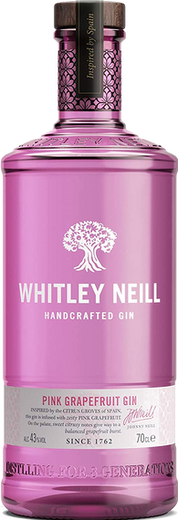 Whitley Neill Pink Grapefruit 70cl 43%
