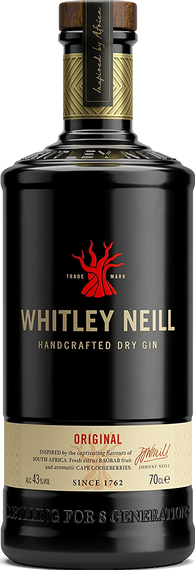 Whitley Neill Gin 70cl 43%