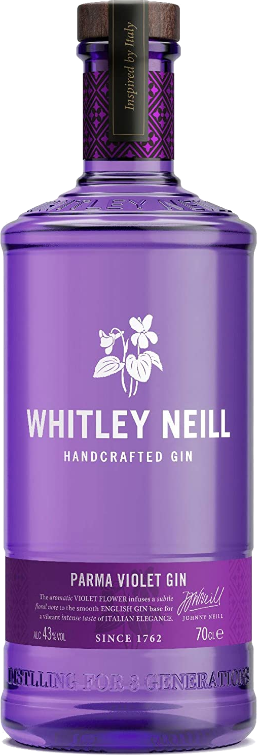 Whitley Neill Parma Violet Gin 70cl 43%