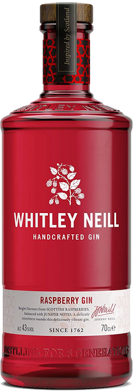 Whitley Neill Raspberry Gin 70cl 43%
