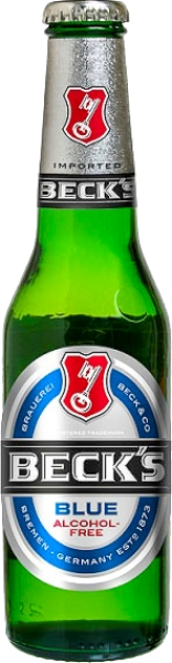 Becks Blue 0% Bottle - 24 x 275ml