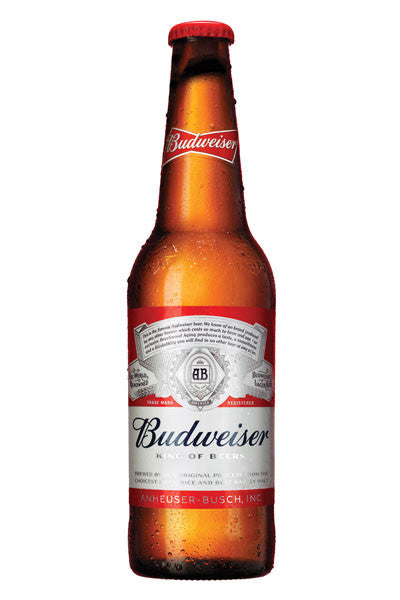 Budweiser Bottle 4.8% - 330ml x 24 pack