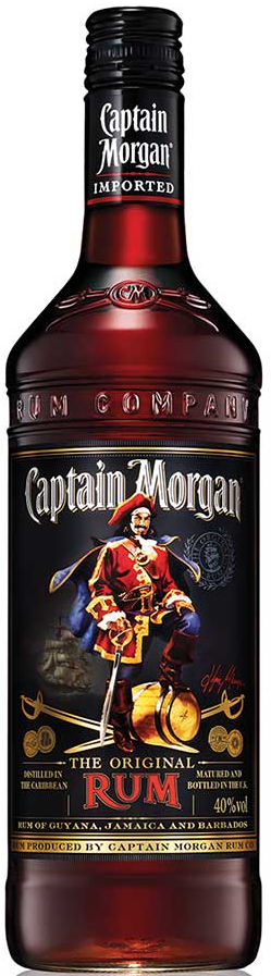 Captain Morgan's Dark Rum