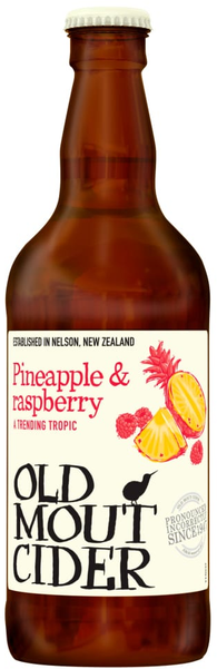 Old Mout Pineapple & Raspberry 12x500ml 4%