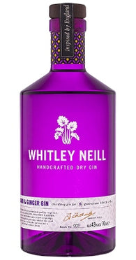 Whitley Neill Rhubarb & Ginger Gin 70cl 43%