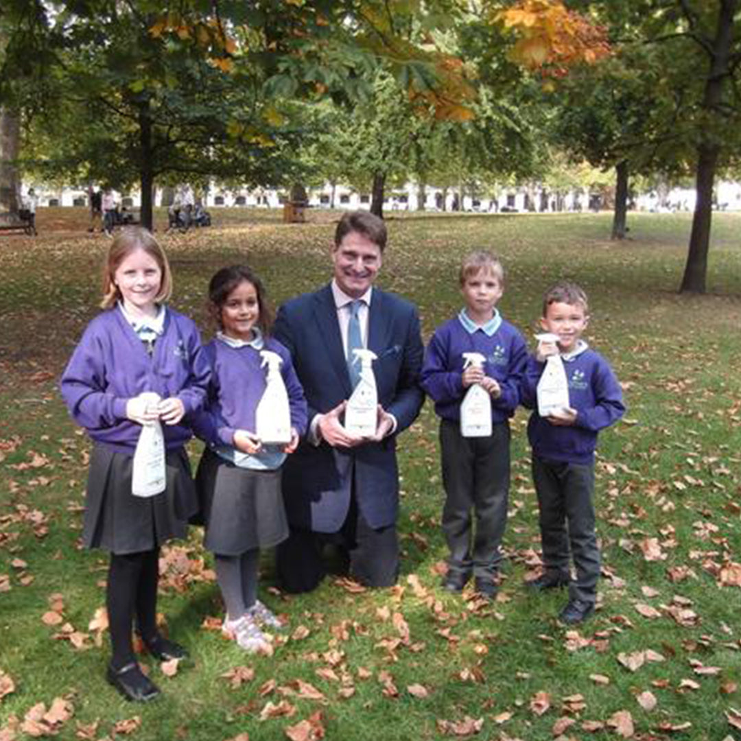 Primary school recycling warriors approve Delphis Eco's 100% Post Consumer Recycled Plastic packaging