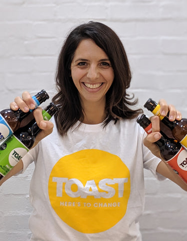 Louisa Ziane, co-founder and COO of Toast Ale.