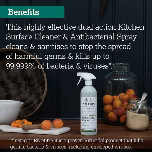 Anti-Bacterial Kitchen Sanitiser 700ml