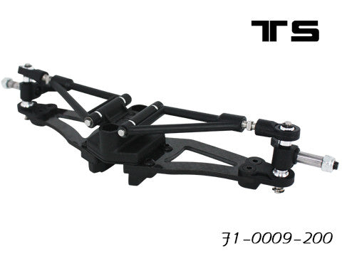 (TS-01016-180) F1-0009-180 Front Suspension/arms-180mm