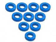 3Racing - 3RAC-WF315/LB Aluminium M3 Flat Washer 1.5mm (10 Pcs) - Light Blue