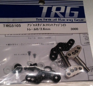 TRG5105 - Front upright set  0/3.6mm