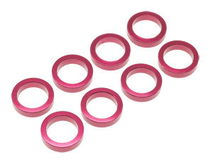 AW-AS200RD Pan Car Rear Axle Spacer - 2mm (8pcs)