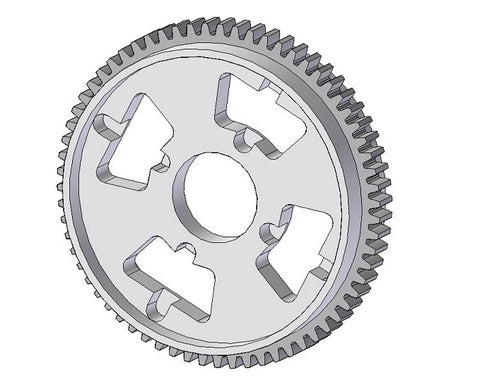 DGD001-86 - Differential Spur Gear 86T 64 Pitch