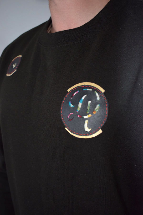 DL colour back logo tracksuit