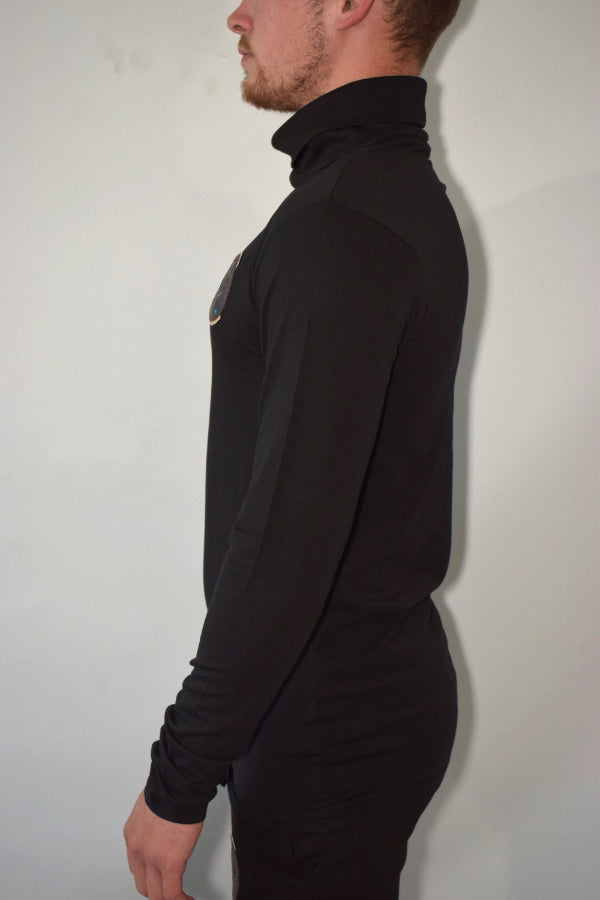 DL roll neck colour back