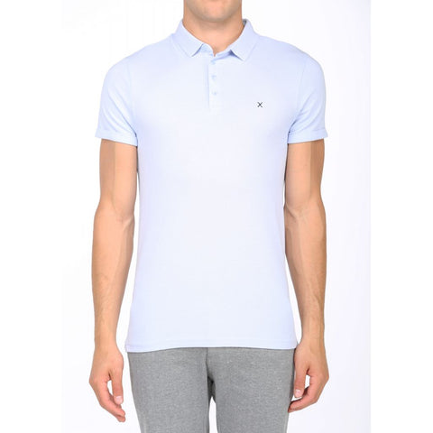Clean Cut Silkeborg Polo T-Shirt 002-4 Light Blue