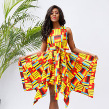 Women African Dresses For Women Ankara Print Dress  african fashion