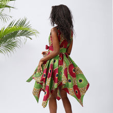 Women African Print Dresses Traditional Clothing Casual Party Dress  african fashion