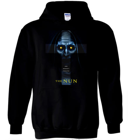 The Nun T Shirt The Conjuring Universe American Horror Film Movie Tee Men Hoodie