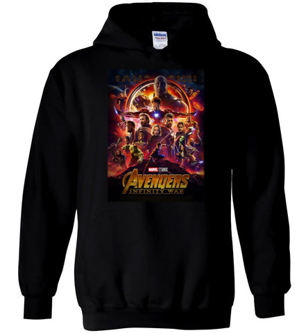 Marvel Avengers Infinity War Hoodie Gauntlet Thanos Captain America Men Hoodie - Sport Fun Shop