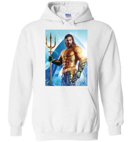 Aquaman Hoodie 2019 Jason Momoa American Superhero DC Comics Movies Men Hoodies - Sport Fun Shop