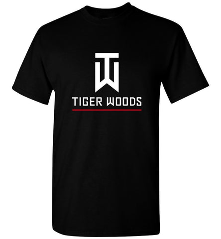 Tiger Woods T Shirt American Golf Golfer Legend New Logo Fan Gift Men T-Shirt