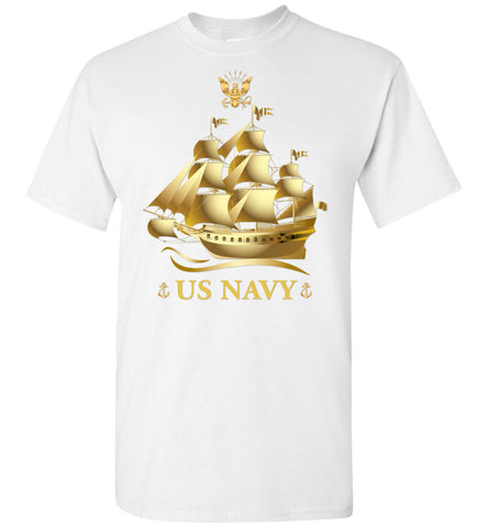 US Navy, Pride Of America, US Army Men T-Shirt, Made In USA
