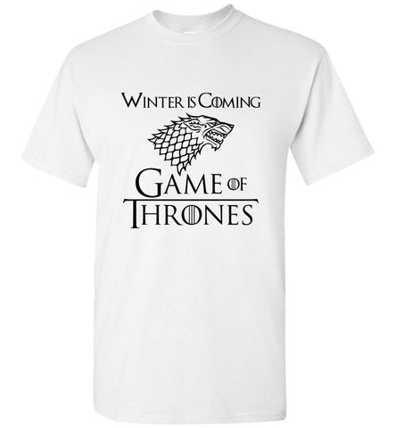 Game Of Thrones T Shirt TV Series Tee Men T-Shirt Multicolor Size S-5XL - Sport Fun Shop