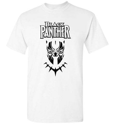 Marvel Black Panther T Shirt T'Challa The King Of Wakanda Men Tee T-Shirt - Sport Fun Shop