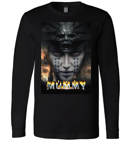 The Mummy Tom Cruise Horror Movie 2017, Men T-Shirt, Long Sleeve T-Shirts