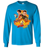 Marvel Ant Man and The Wasp T Shirt American Movie Nice Men Long Sleeve T-Shirt - Sport Fun Shop