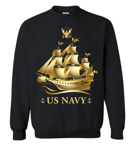 US Navy, The Pride Of America, Gildan Long Sleeve T-Shirts, Men Sweatshirt