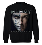 The Mummy 2017 Tom Cruise Horror Movie, Gildan Crewneck Sweatshirt