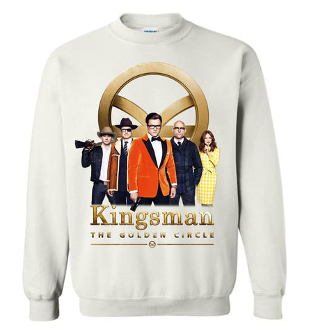 Kingsman The Golden Circle, Hollywood Action Adventure Movie Men Sweatshirt - Sport Fun Shop