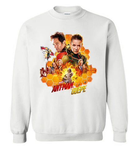 Marvel Ant Man and The Wasp T Shirt American Movie Mens Nice Crewneck Sweatshirt - Sport Fun Shop