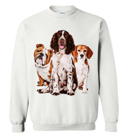 My Puppy Brothers Very Cute Dog Pet Clothes Fall Winter Fashion Sweatshirt - Sport Fun Shop