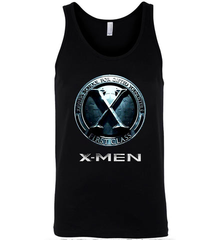 X-Men T Shirt Xavier's School Super Heros Nice Men Women T-Shirt Tank Top - Sport Fun Shop