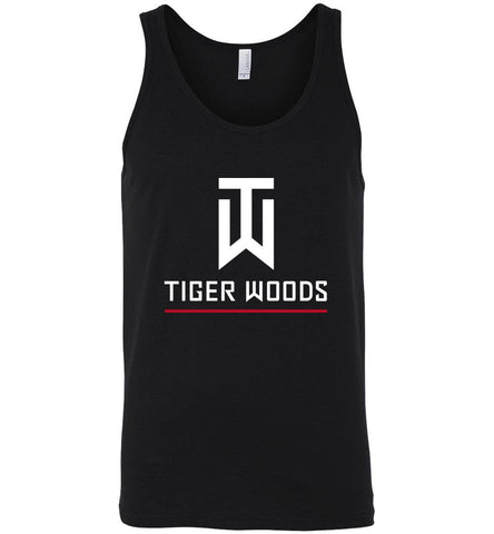 Tiger Woods T Shirt American Golf Golfer Legend Logo Men Unisex T-Shirt Tank Top - Sport Fun Shop