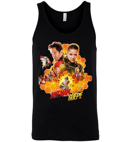 Marvel Ant-Man and The Wasp T Shirt Action Movie Tee Men Women T-Shirt Tank Top - Sport Fun Shop