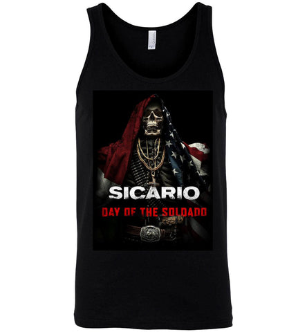Sicario T shirt Day Of The Soldado American Movies Men Women T-Shirt Tank Top - Sport Fun Shop