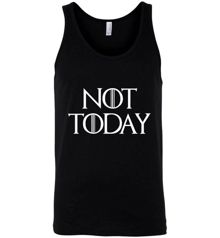 Game Of Thrones T-Shirt Not Today White Character Men T-Shirt Tank Top - Sport Fun Shop