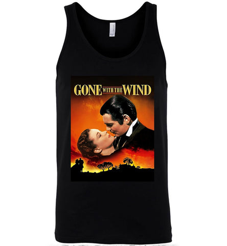 Gone With The Wind T-Shirt American Classic Romance Film Men T-Shirt Tank Top - Sport Fun Shop