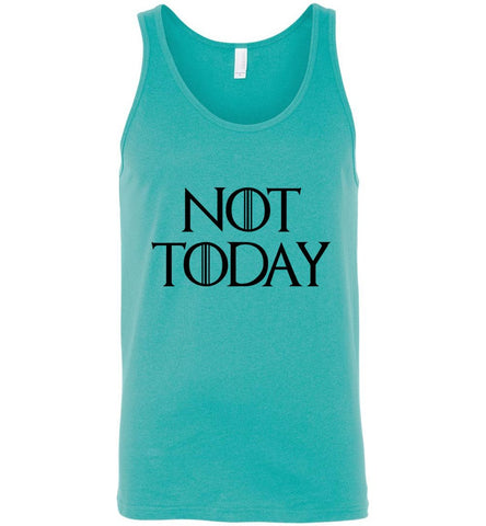 Game Of Thrones T-Shirt Not Today Funny Character Men Unisex T-Shirt Tank Top - Sport Fun Shop