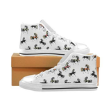 Beautiful Horses Lover Men's Classic High Top Canvas Shoes - Sport Fun Shop